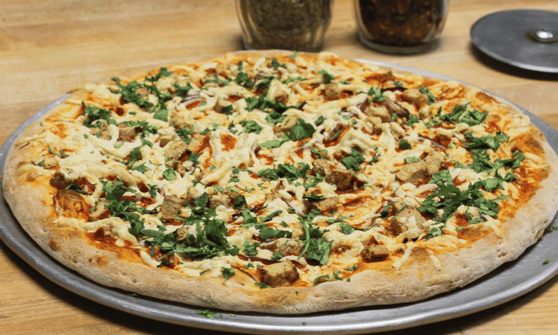 "12"" Vegan Buffalo Chicken Pizza"