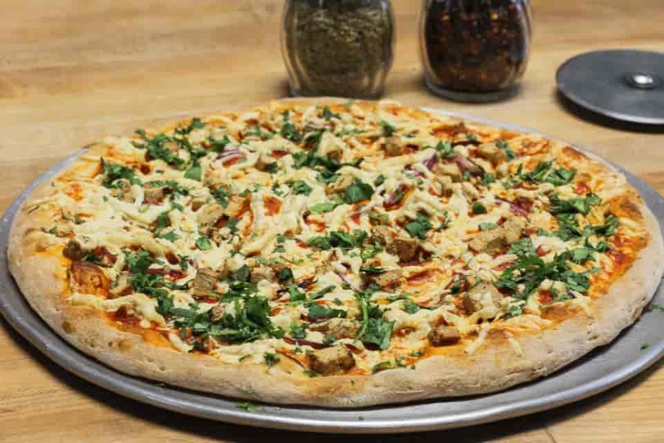 "12"" Vegan Hawaiian Pizza"