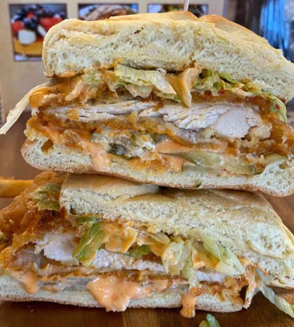 The Boom Boom Chicken Cultet Sandwich