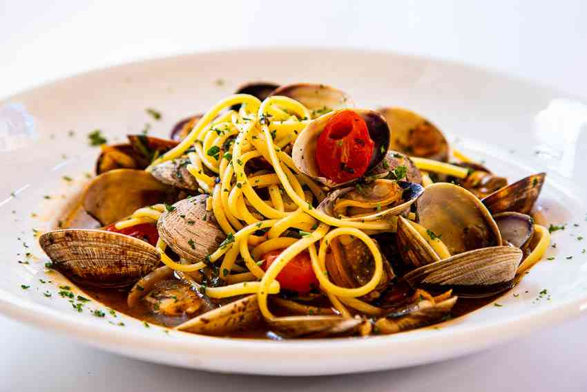 Linguini + Clams
