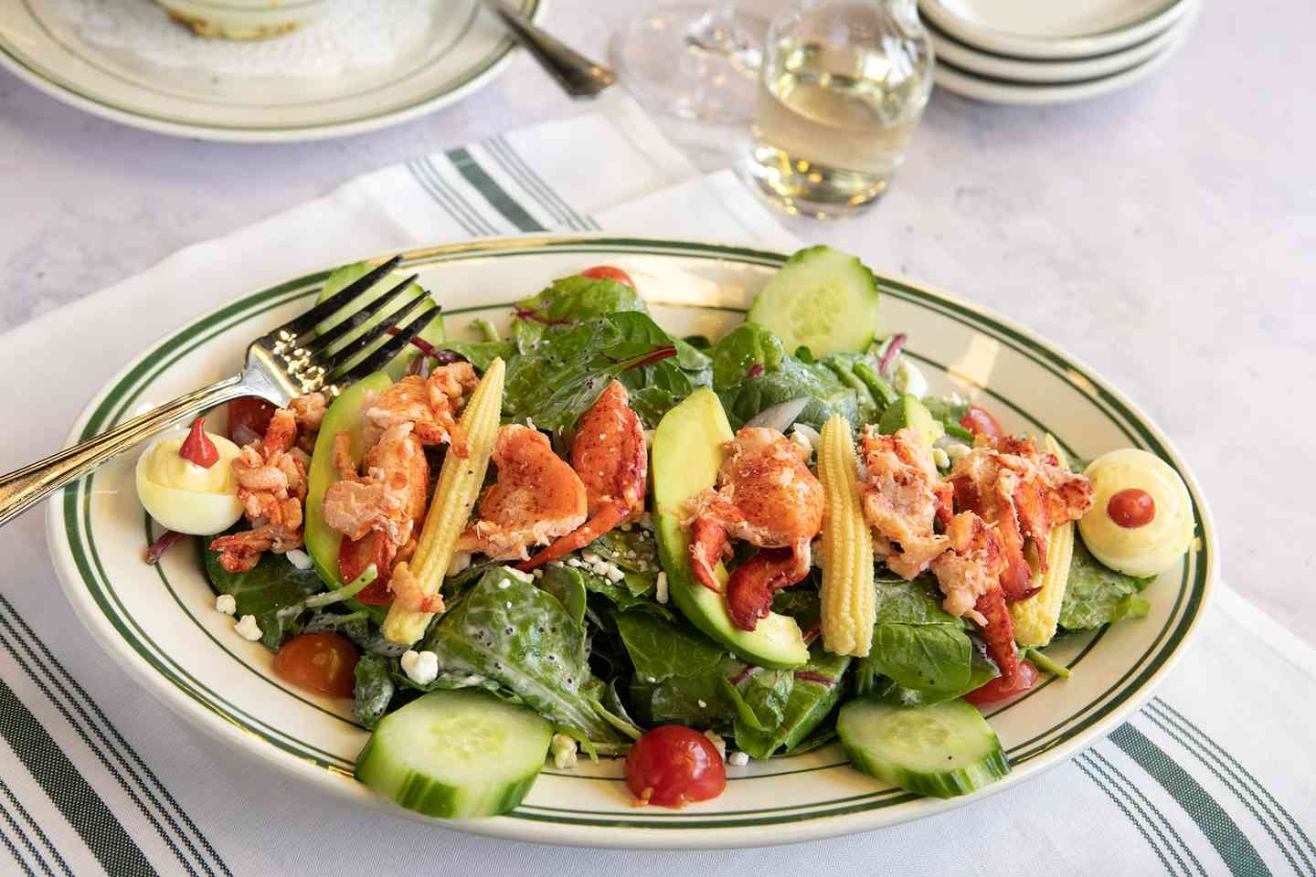 The Gramercy Lobster Cobb Salad