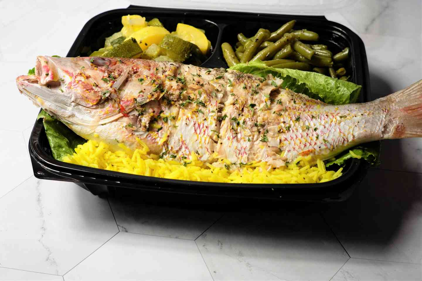 Red Snapper Plate