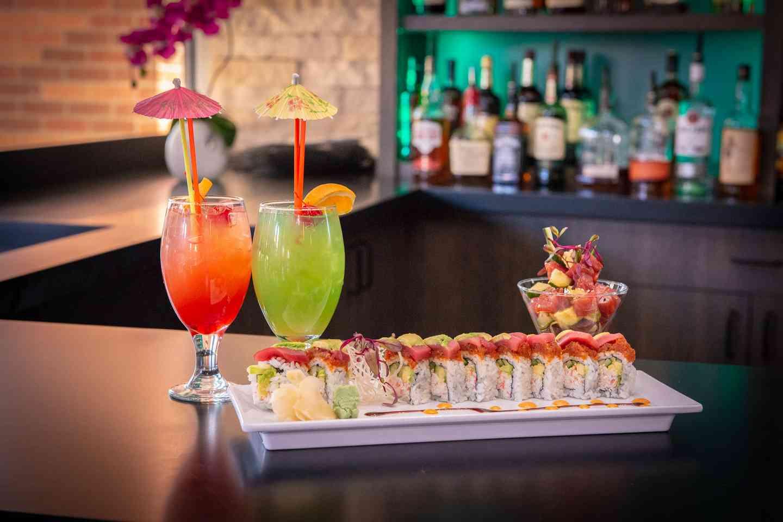 Drinks & Sushi