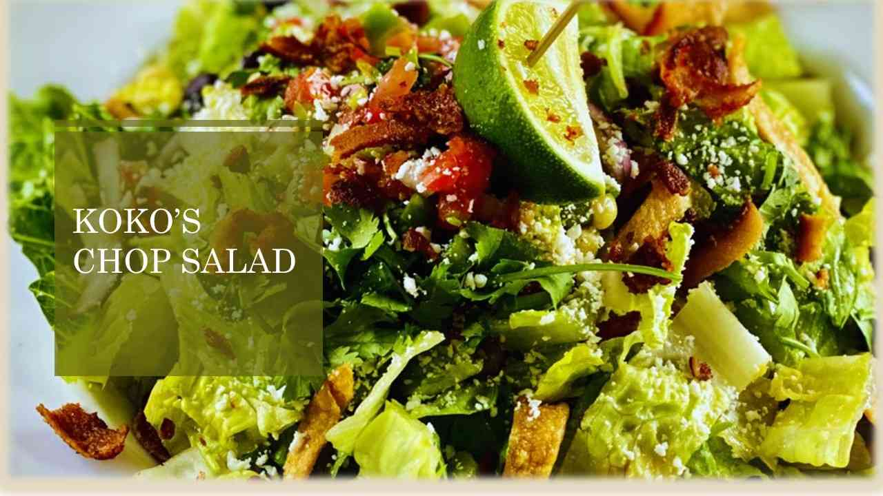 Koko's Chopped Salad (GF)