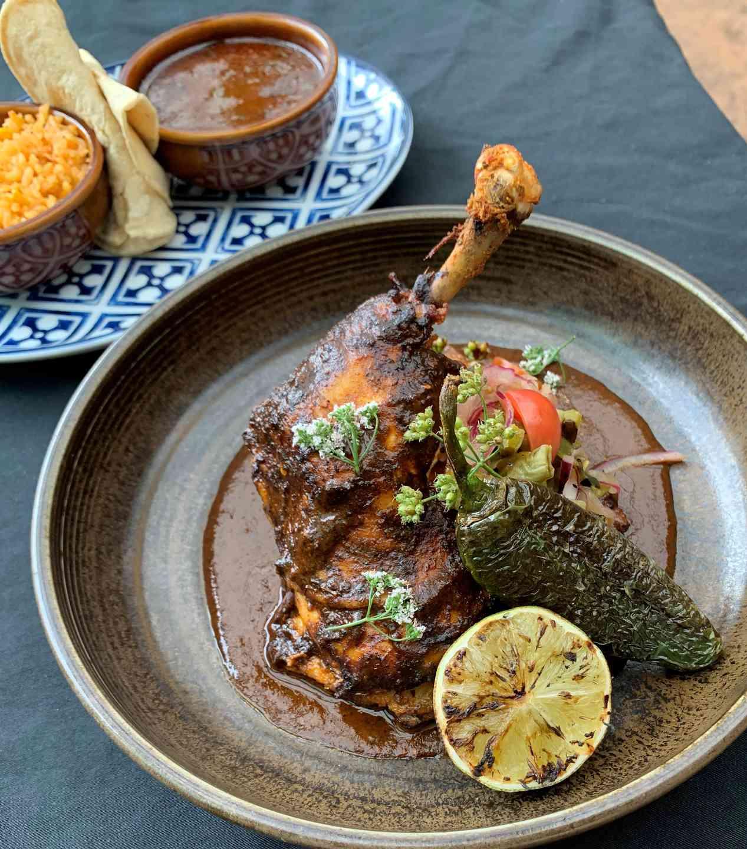 Pasilla Adobo Roasted Chicken