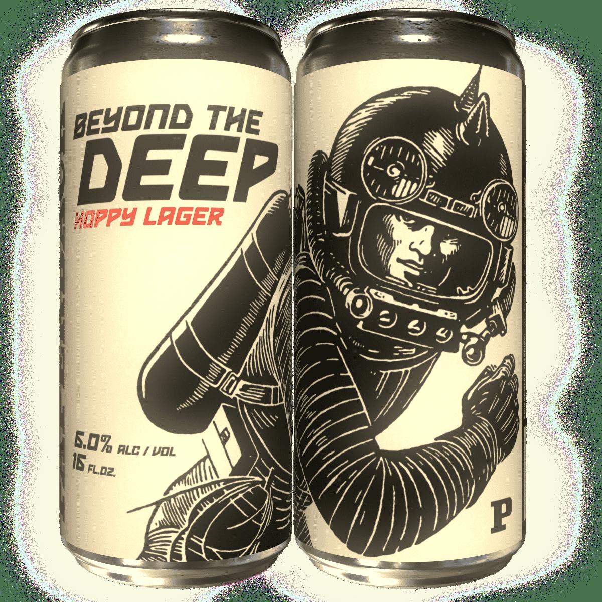 Beyond the Deep 'Hoppy Lager'