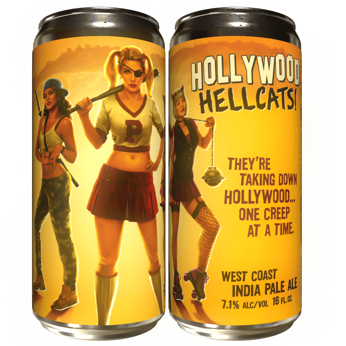 Hollywood Hellcats 'West Coast IPA'