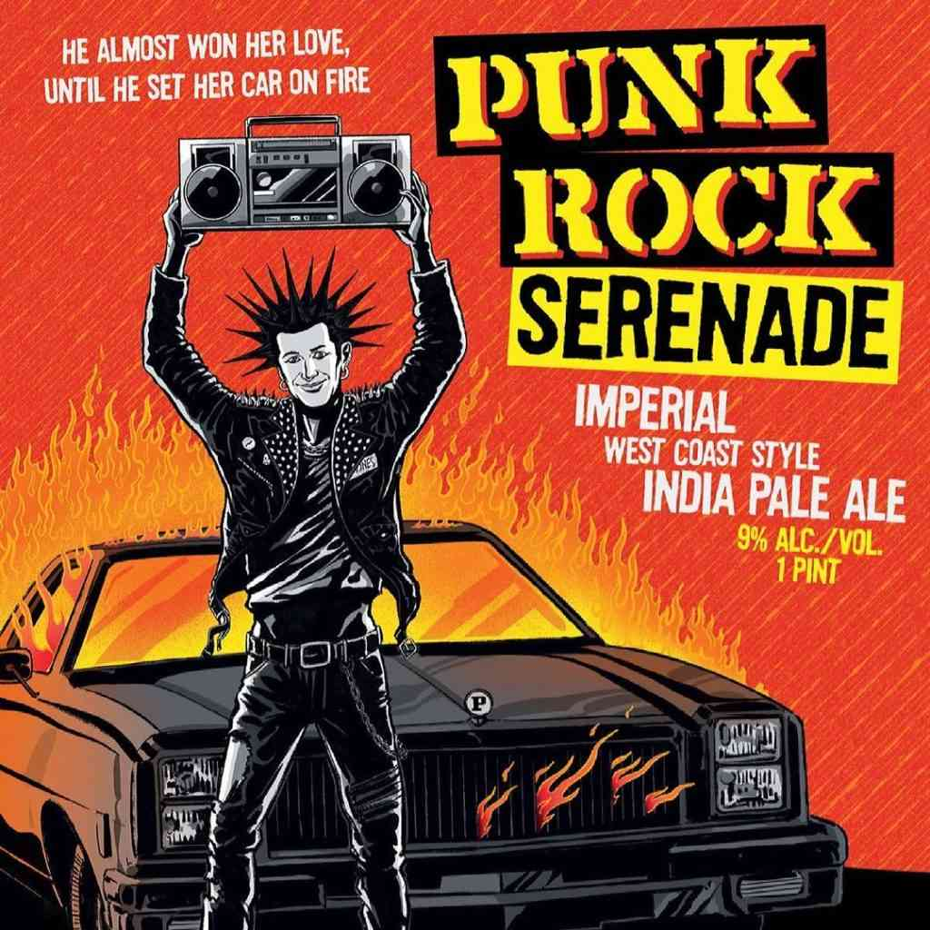 Punk Rock Serenade 'Imperial IPA'
