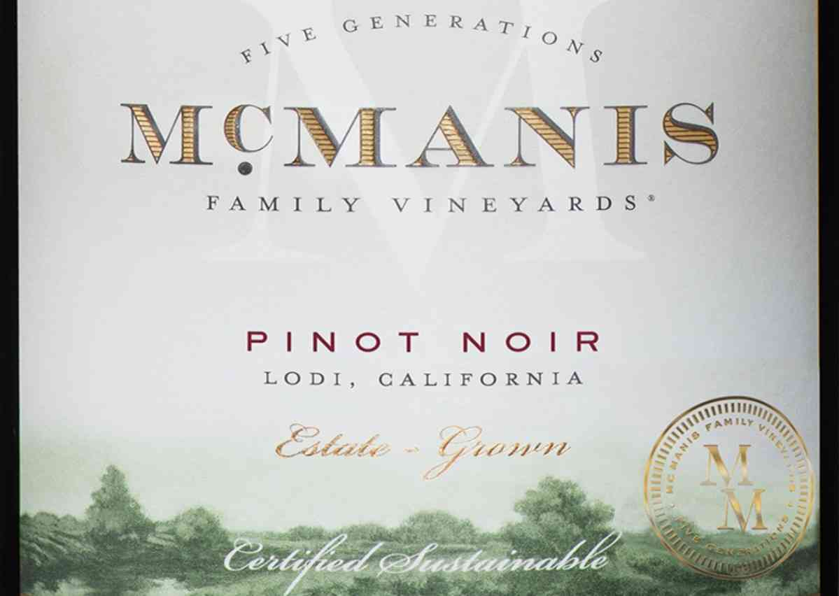 Pinot Noir, McManis