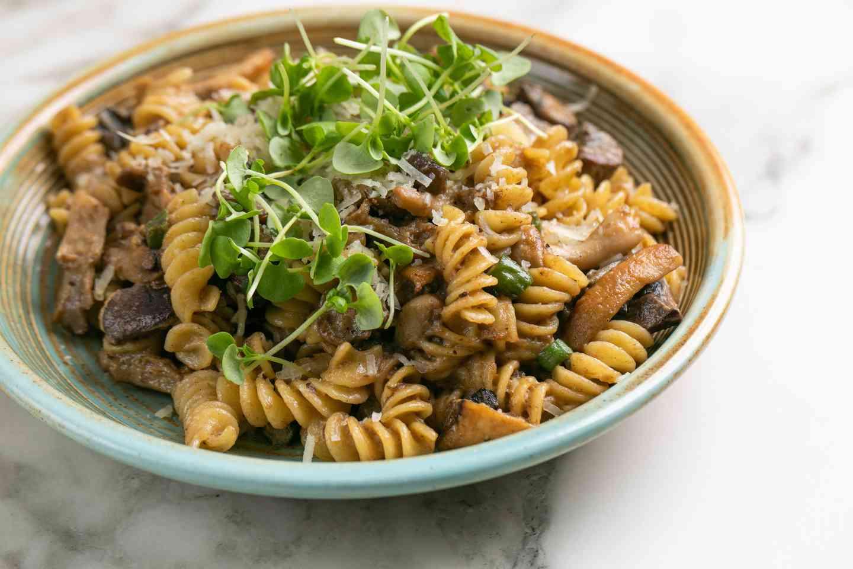 Truffled Mushroom Rotini (Vegetarian Optional)