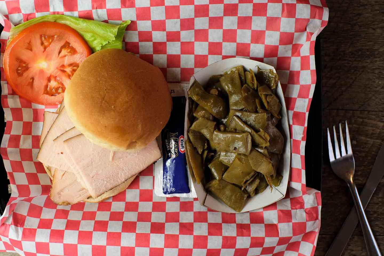 Tender Smoked Turkey Sandwich