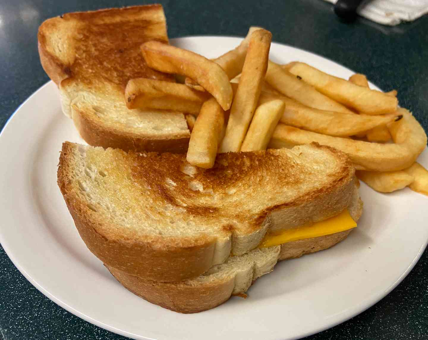 Sr. Grilled Cheese Sandwich