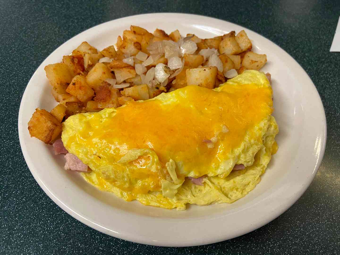 Sr Ham and Cheese Omelet