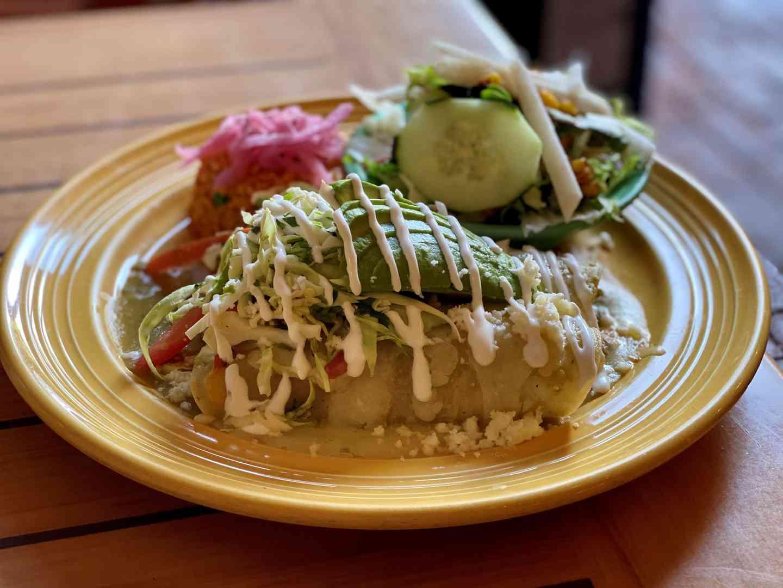 Enchiladas de Jaiba Sirenitas