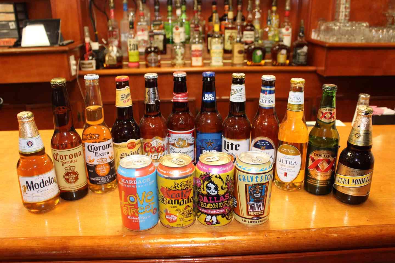 Beers at Ventura's Tamales