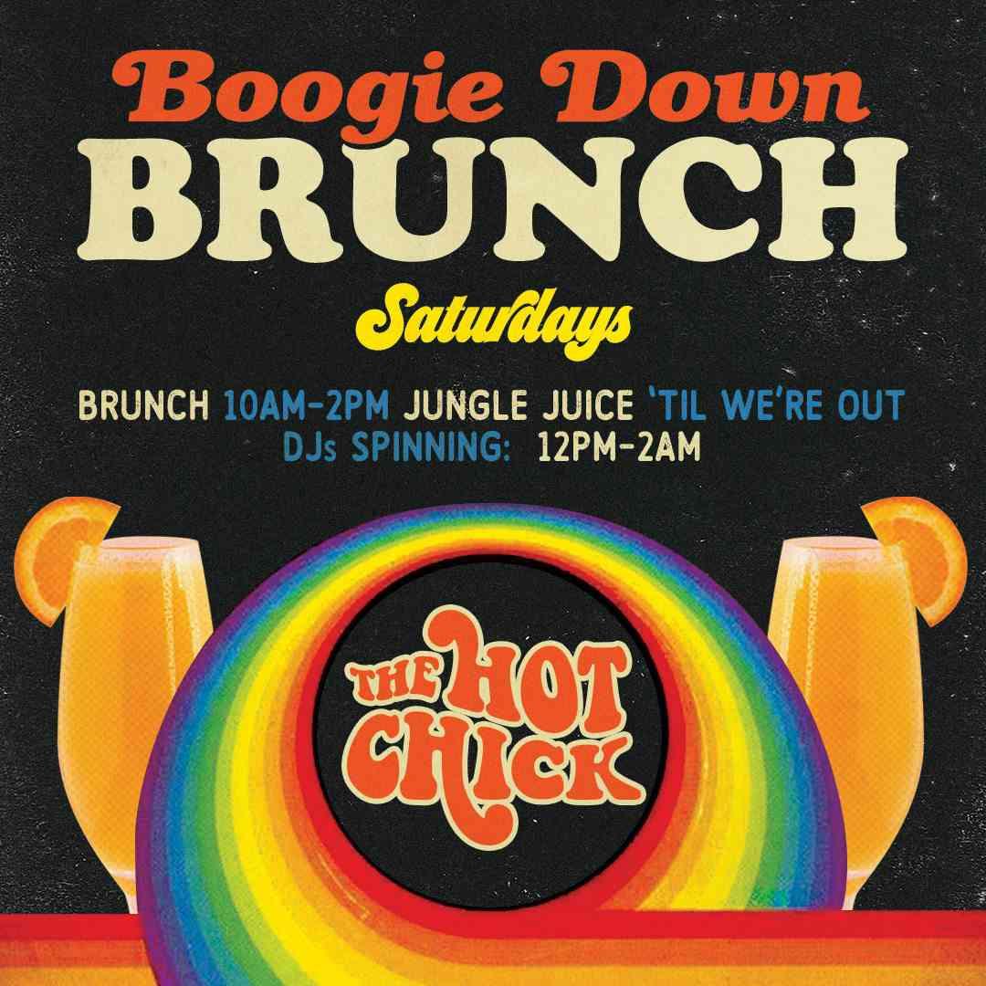 Boogie Down Brunch Saturday