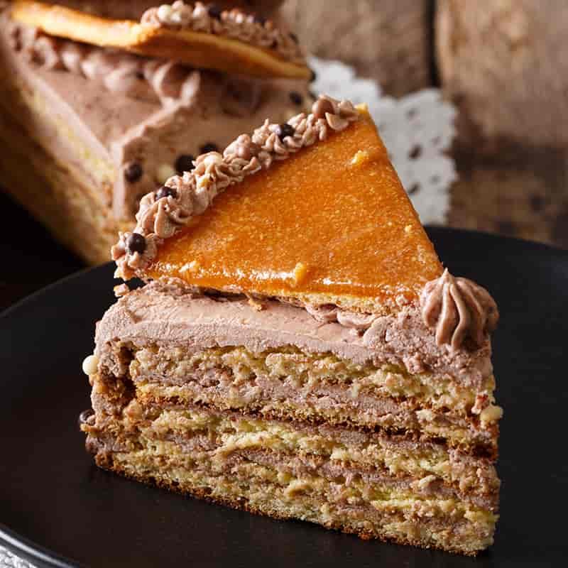 Chocolate Layer Cake (Dobos)