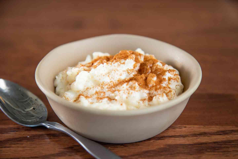 Mom's Rice Pudding