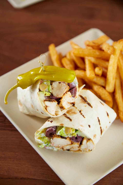 Greek Salad Wrap