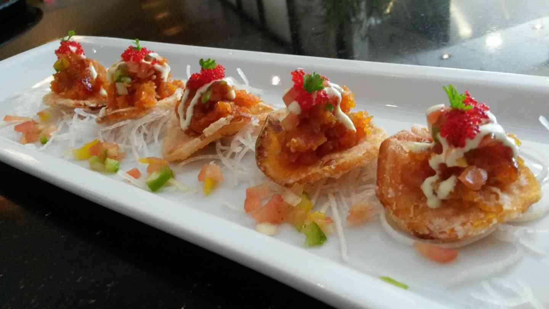 Sashimi Taco