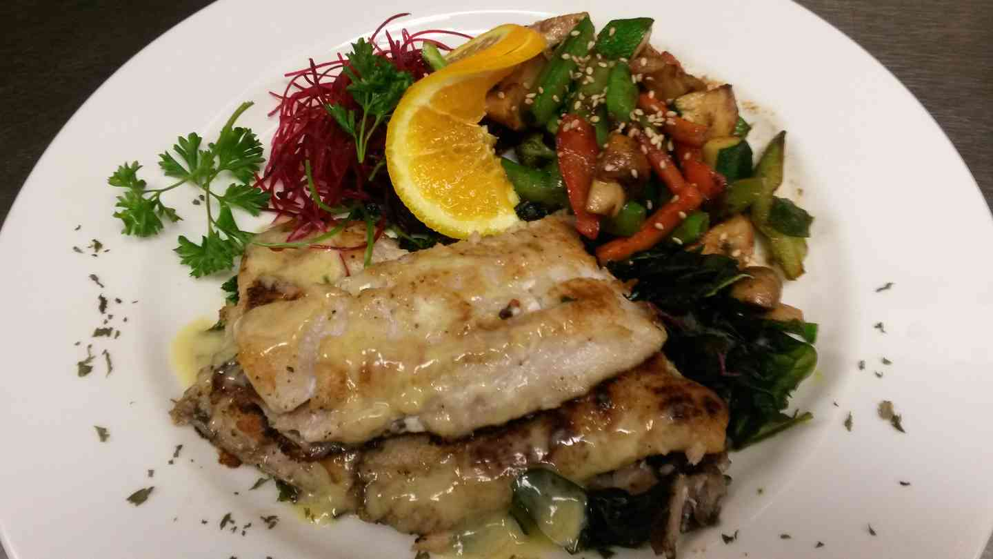 Grilled Sea Trout