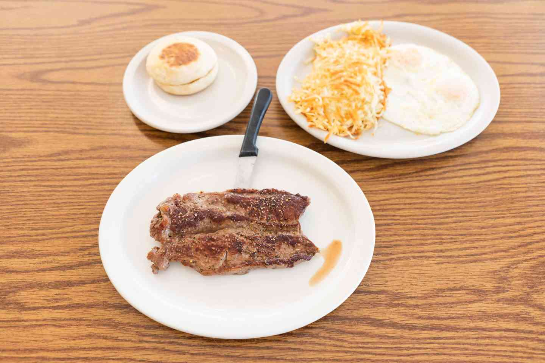 8 oz. Steak and Eggs