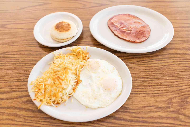 8 oz. Grilled Ham Breakfast