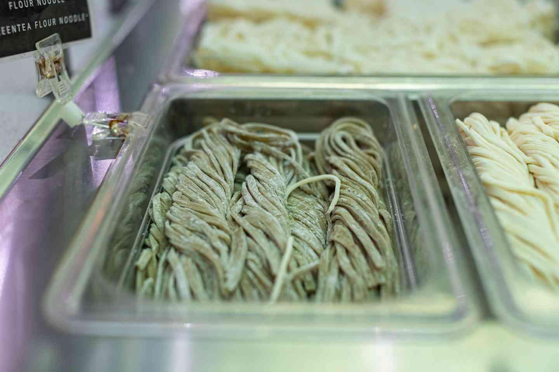 2. Green Tea Korean Style Noodles*