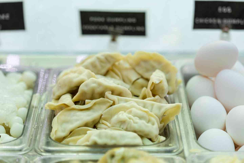 9. Vegetable Dumplings