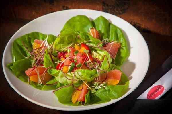 Citrus and Vegetable Salad