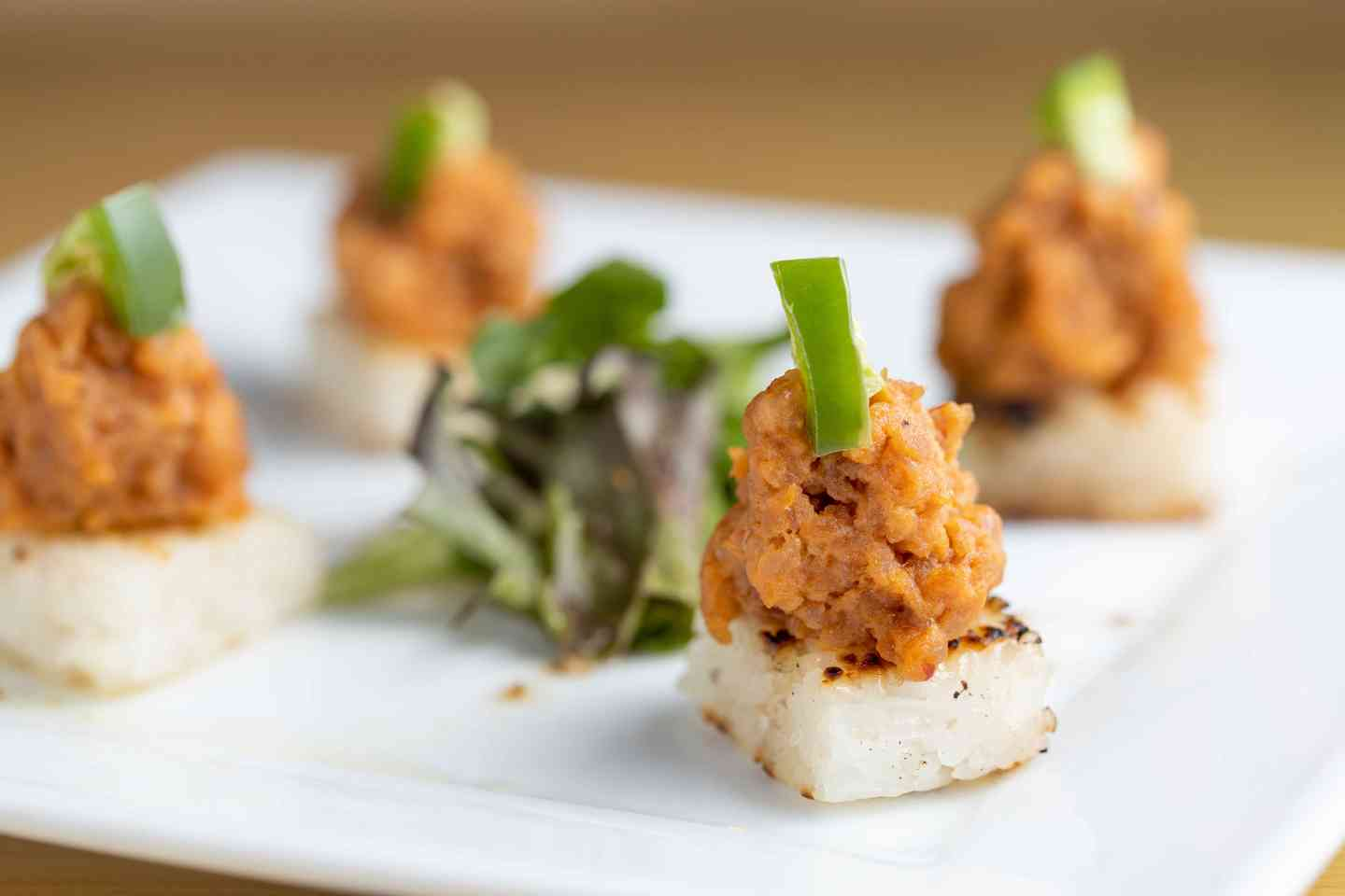 Spicy Tuna Canapé