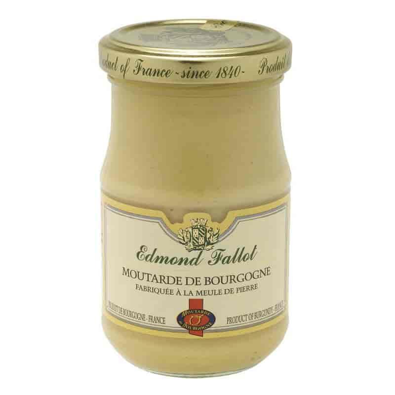 EDMOND FALLOT BURGUNDY WINE MUSTARD JAR