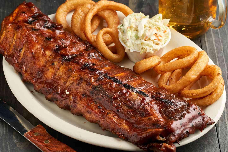 BBQ Baby Back Pork Ribs