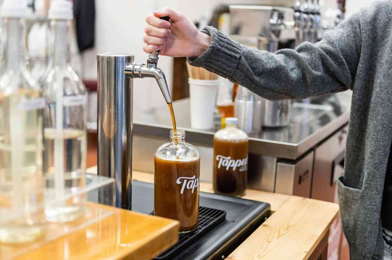 Caramel Mocha Nitro Coffee