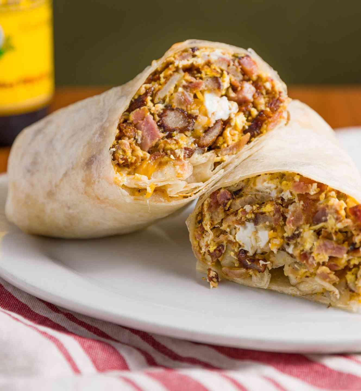 Classic Breakfast Burritos
