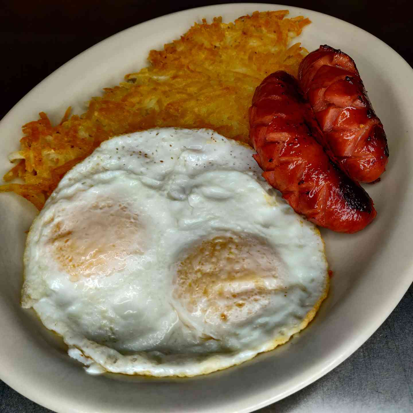 Hot Links and Eggs