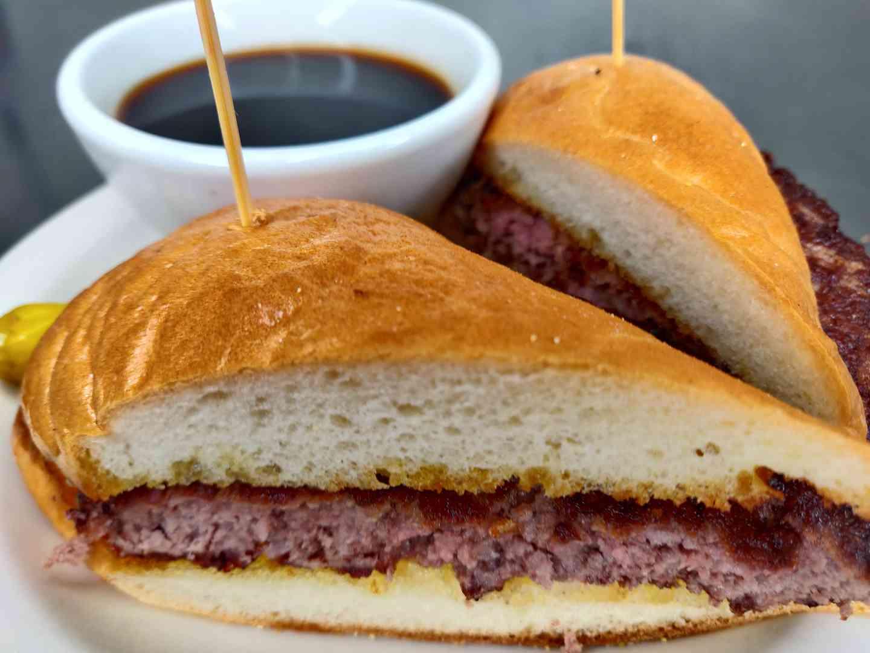Burger Dip ½ Pound