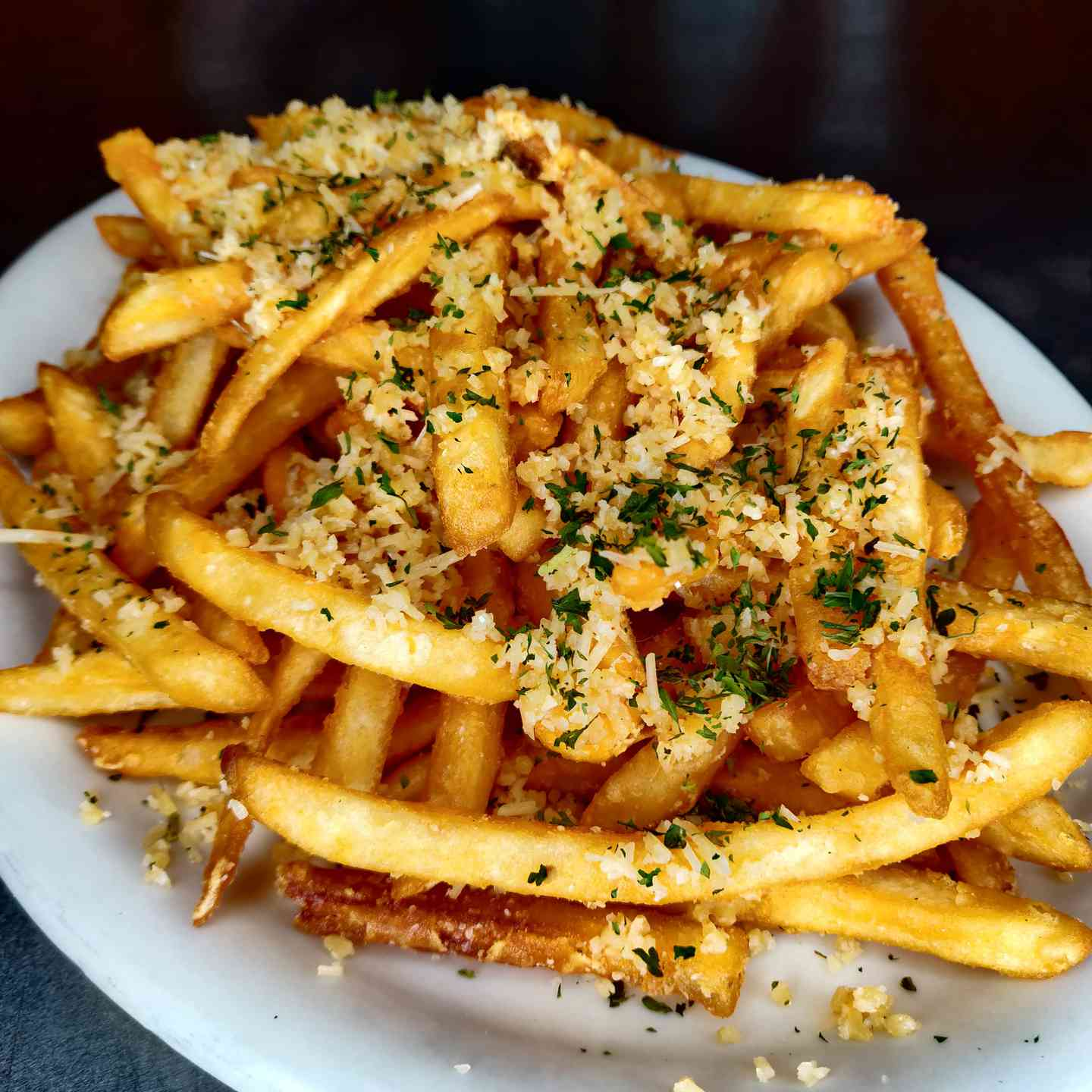 Large Garlic Fries
