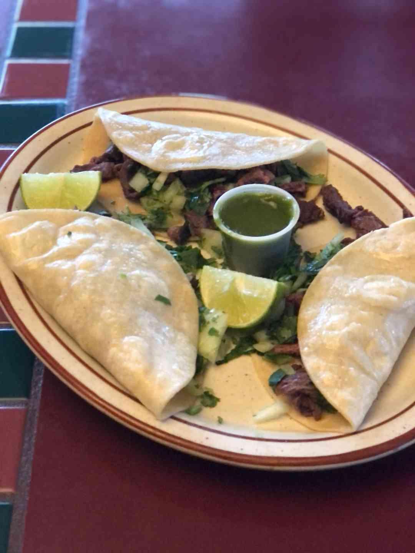 Street Tacos (3) Carne Asada
