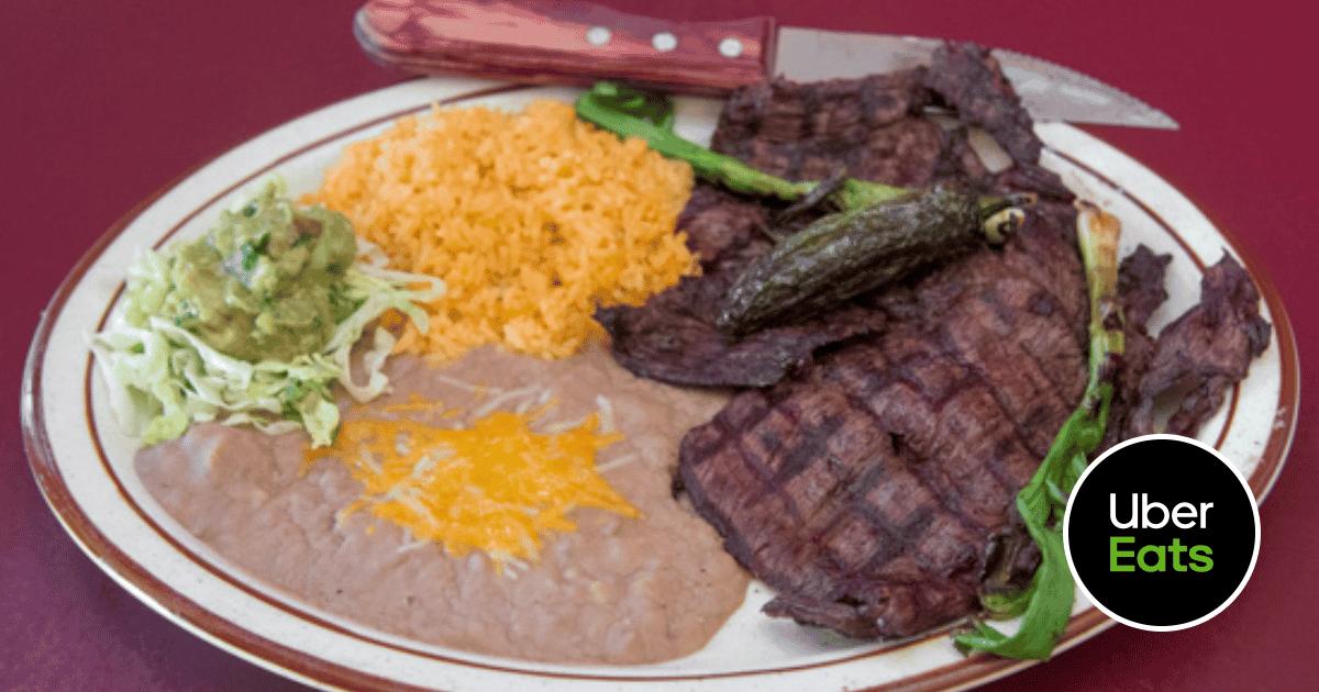 Skillet meal made at La Corona