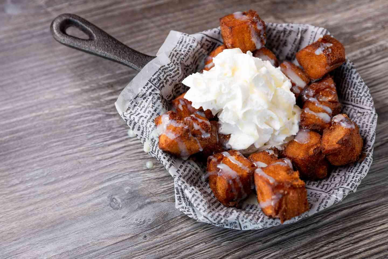 Crispy Vanilla Bread Puddin'