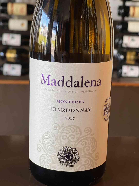 Chardonnay Monterey Maddalena 2017