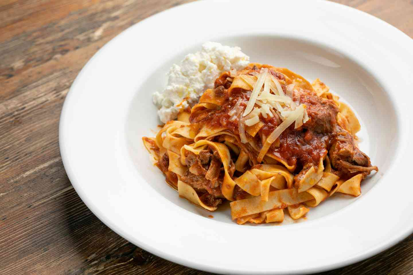 Pappardelle all'Agnello