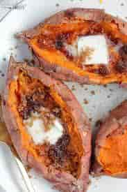 Sugar-Baked Sweet Potato