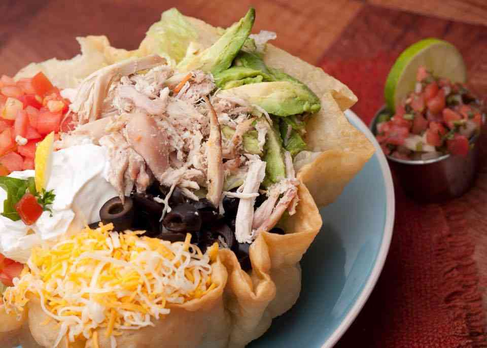 Chicken Tostada Salad Bowl