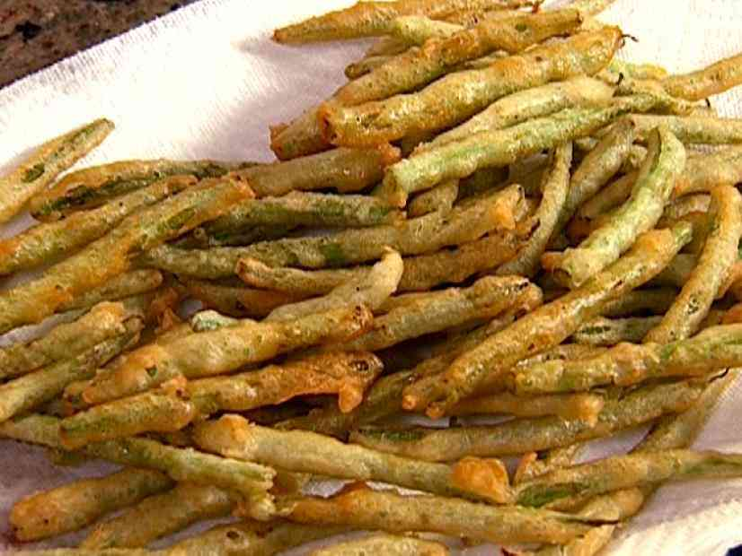 Battered Green Beans