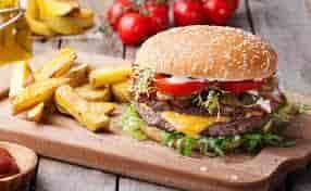 Angus Beef Sirloin Cheeseburger