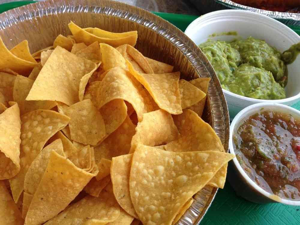 Made to Order Tortilla Chips & Salsa