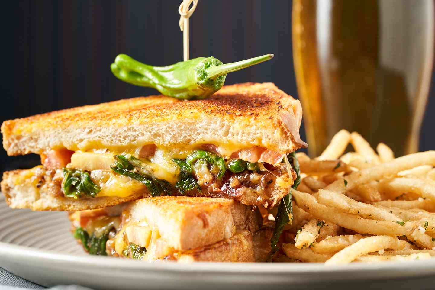 Shishito Grilled Cheese