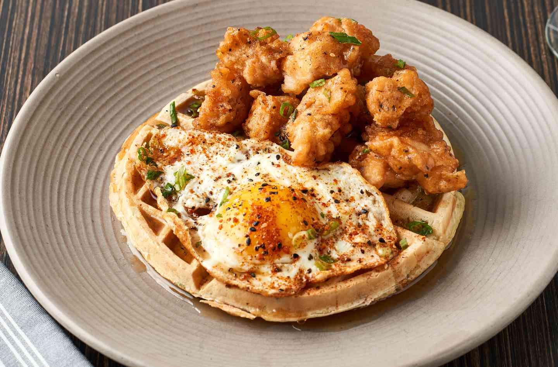 Tempura Chicken + Waffles